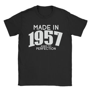 Made In 1957 Mens T-Shirt - 60th Birthday Gift Present Vintage Printed T Shirt Men'S Short Sleeve O-Neck Summer Stree Twear(China)