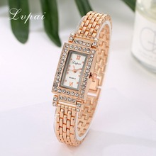 Lvpai Brand New Arrival Watches Women Luxury Gemstone Stainl
