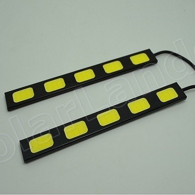 factory price sale Car LED COB Daytime Running Light DRL Driving Lamp White 5LED 2X10W