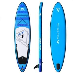Image 3 - Tavola da surf gonfiabile 340*81*15cm TRITON 2019 stand up paddle board surf AQUA MARINA sport acquatici sup board tavola da surf per il tempo libero