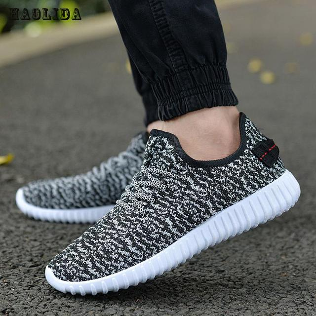 2018 New Men Summer Mesh Shoes Loafers lac-up Water shoes Walking lightweight Comfortable Breathable Men tenis feminino zapatos