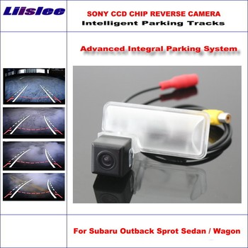 Liislee 860 Pixels Rear Camera For Subaru Outback Sprot Sedan Wagon 2011-2015 Rearview Parking Dynamic Guidance Tragectory