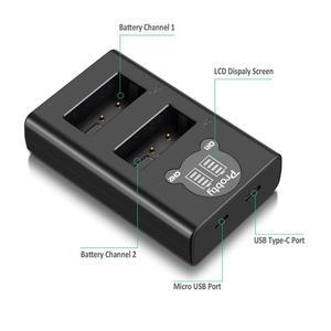 Image 5 - For GoPro Hero 7 hero 6 hero 5 Black Battery + LED dual Charger for Go Pro Hero7 hero6 hero5 Black camera AHDBT 501battery