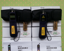 Fiber Optic FTTH Tool Kit with Optical Power Meter FHP12-A 10Mw Visual Fault Locator VLS-8-10