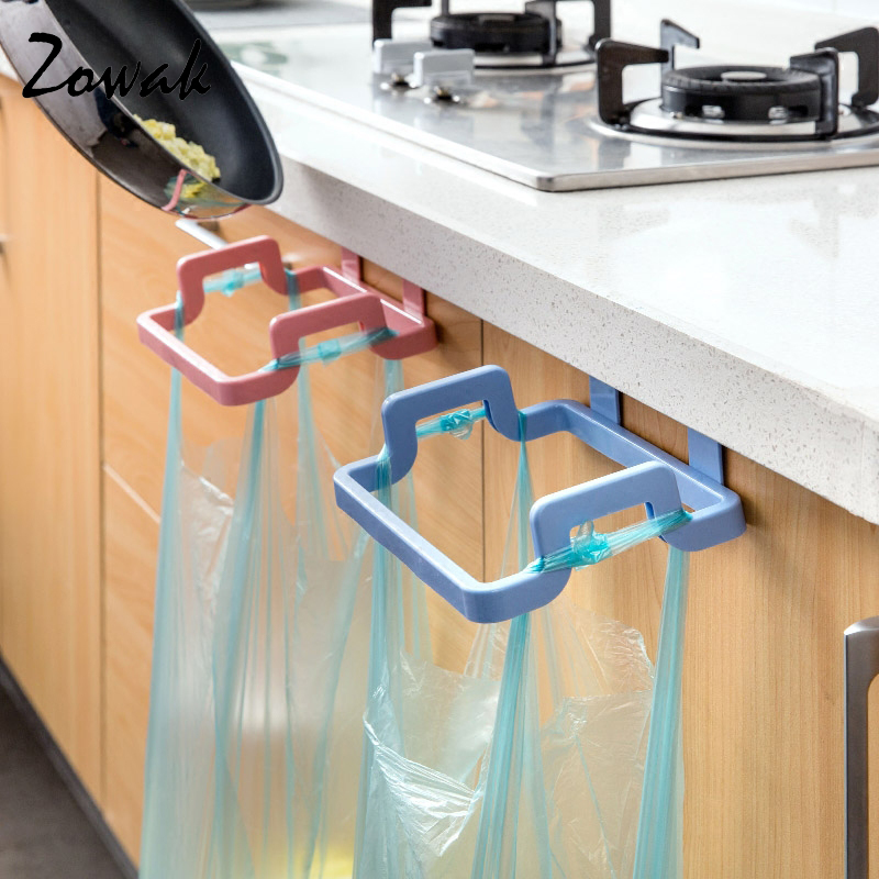 Aliexpress.com : Buy Hanging Kitchen Cupboard Door Back Style Stand Trash  Garbage Bags Storage Rack Towel Rack Dish Cloth Hanger Frame Holder Cabinet  From ...