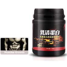 Whey Protein Powder Bodybuilding Sports Fitness Supplement Easy Fast Add Muscle Weight Gainer 1 Bottle of 500g
