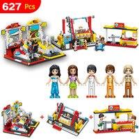 العجائب ملعب مدينة كبيرة كرنفال اللبنات ذكية legoings البناء ألعاب تعليمية للأطفال متوافق