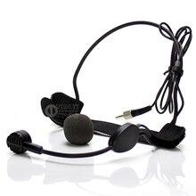 лучшая цена Free Shipping Metal Wired Wireless FM Transmitter Receiver Handheld Microphone Mic System For Computer Karaoke Singing Teaching