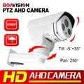 Безопасности HD 2-МЕГАПИКСЕЛЬНОЙ AHD Камера PTZ 1080 P Водонепроницаемый Открытый Пуля ИК 30 м 2 Шт. Светодиодов Массива Коаксиальный или RS485 Управления CCTV камера