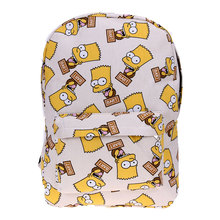 Школьные принадлежности печати рюкзак Школьные сумки Для мужчин Для женщин Холст сумка для подростков Mochila Feminina Back Pack