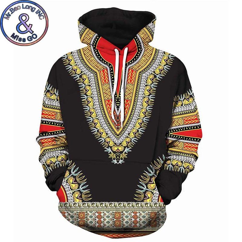 3D Traditionelle Print Hoodies Männer Frauen 2018 Mode African Dashiki Hoodie Sweatshirts Männer Hip Hop Streetwear Hoody Trainingsanzug