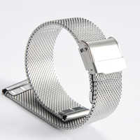 2019 NEW Fashionable High Quality Watch Band 18mm 20mm 22mm 24mm Top Brand Milanese Stainless Steel Wrist Watch Strap
