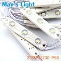 500 pcs transporte livre Pure White / branco quente / natureza branco / Cool White 3 * SMD5730 LED Injection módulo luz com 3-ano de garantia