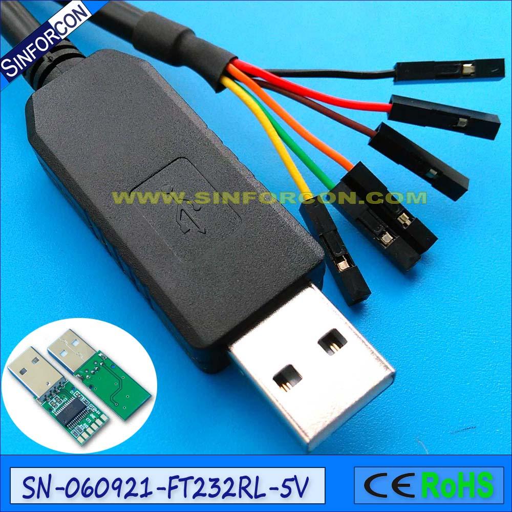 Win8 10 android mac ftdi ft232rl USB ttl 5v konsolės kabelio derinimo kabelio blykstės kabelio atsisiuntimo kabelis