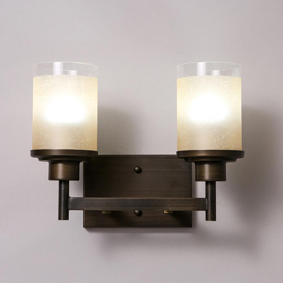 Led e27 Loft Fer Verre Bougie LED Lampe Led Mur lampe Wall Light