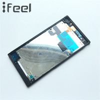 New Front Middle Frame Bezel Plate Chassis Housing For Sony Xperia Z Ultra XL39h XL39 C6802