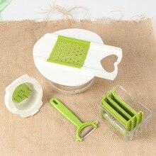 Multifunctional Kitchen Planer, Vegetable Cutter, Convenient Fruit And Vegetable Shredding And Slicer