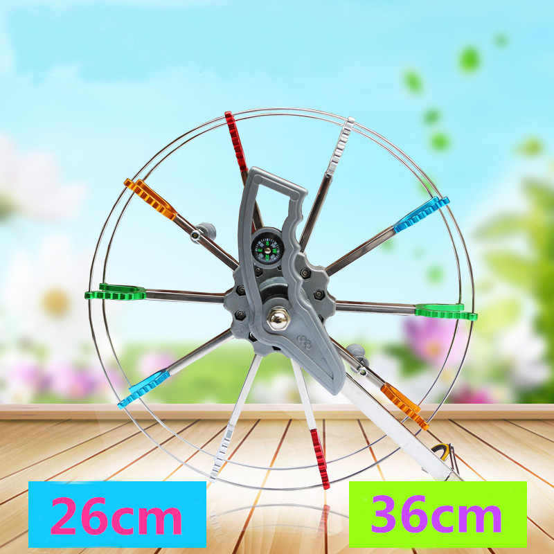 Free shipping high quality 26cm 36cm kite reel outdoor flying toys for adults weather vane eagle fun factory parafoil kevlar koi