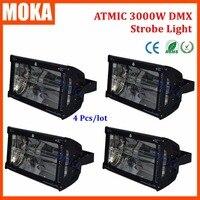 4 шт./лот Atomic ксенон DMX 3000 Вт strobe light flash эффект Авто DMX светодиодной вспышки света диско для клуба КТВ крючок диско шоу