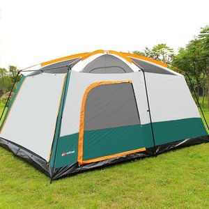Image 2 - 8 10 12 Person Large Camping Tent Waterproof Family Tents for Outdoor Double Layers Event Luxury Camping Tents