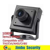 Супер мини-камера GS-MS4N1CM IP55 Размер 34x34 см 1080P Совместимость с TVI CVI AHD и аналоговый видеорегистратор (Поддержка UTC)