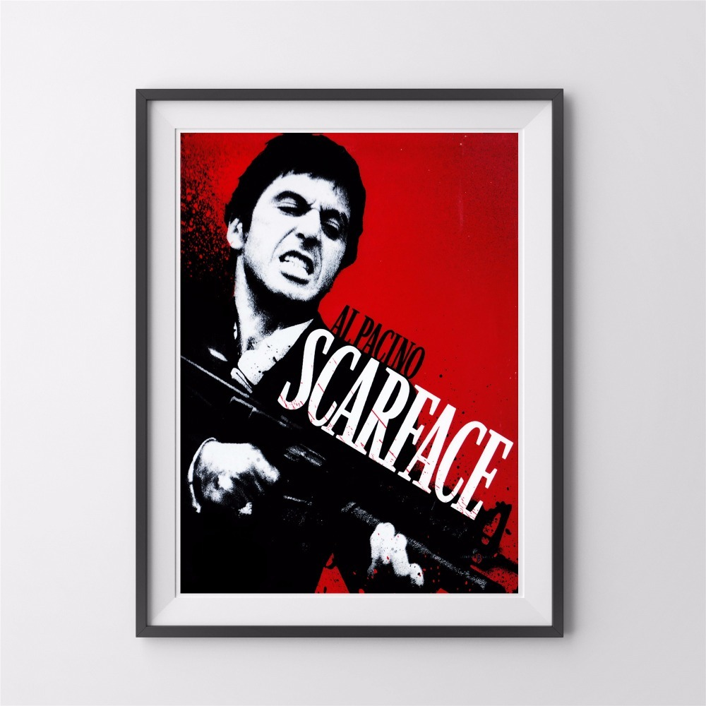 Buy canvas scarface and get free shipping on aliexpress jeuxipadfo Images