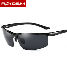2018 Rushed New Raydem Sunglasses Polarized Lens Men Sun Glasses Mirror Male Driving Fishing Outdoor Eyewears Accessories 8530