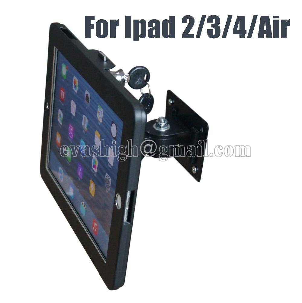 tablet wall mount ipad security lock display stand bracket kiosk antitheft case soporte de bloqueo de - Tablet Wall Mount