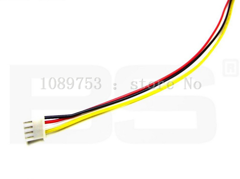 50PCS JST XH 2.54-4 Pin Battery Connector Plug Male with 100MM Wire 100pcs jst xh 2 54 4 pin battery connector plug male with 100mm wire