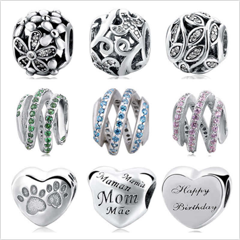 New arrival 925 Sterling Silver Cinderellas Wish Charm Fit Pandora Bracelet Bangles Charms Original DIY Jewelry making Gifts