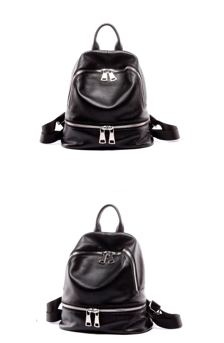 women genuine leather backapck 10
