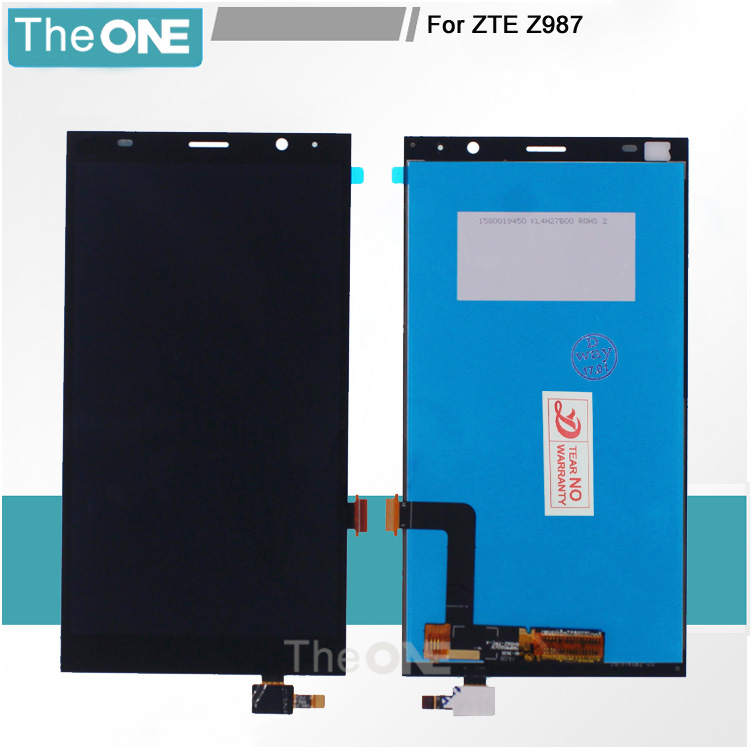 6 LCD Display Touch Screen Digitizer Assembly Replacement For ZTE Grand X Max+ Plus Z987 987 High Quality Mobile Phone LCDs