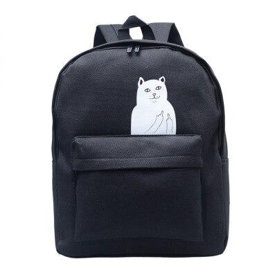 Women Backpack Mochila Backpack Ladies Shoulder Bags Teenage Girls School Backpack Female Animal Prints Black Bags