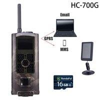 HC700G 3G GPRS Hunting Motion Camera Infrared Cam Hunter Wildlife MMS Guard Camera Hc 700g Solar