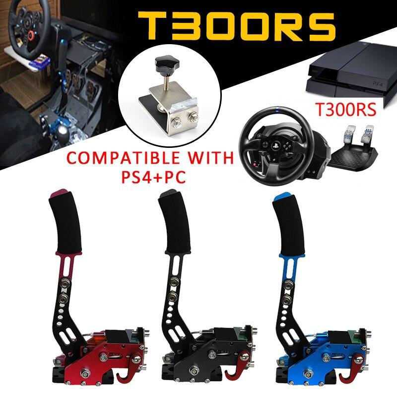 PS4 + PC USB frein à main + pince pour jeux de course G27/G29/G920 T300RS Logitech frein à main système 2019 pièces de rechange Auto