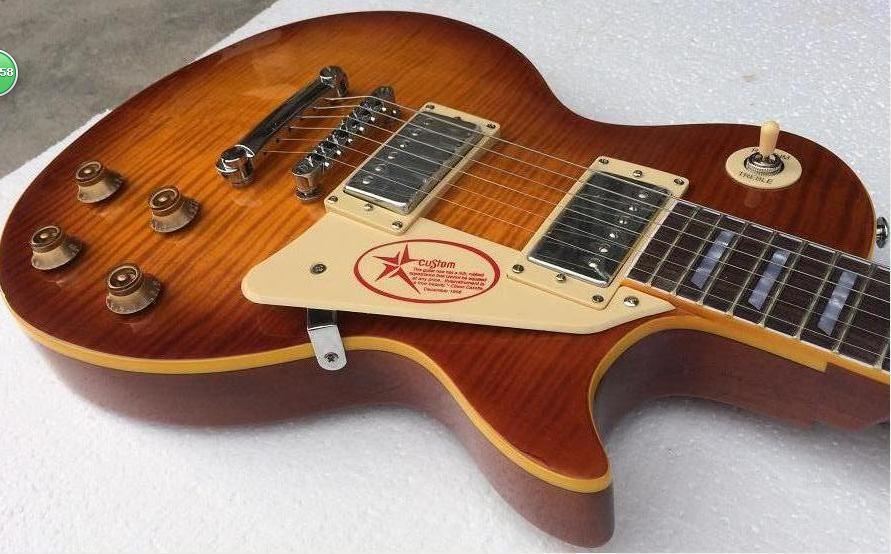 FREE SHIPPING 1959 g lp guitar custom/standard/supreme electric guitar/ mahogany neck guitar/more color/guitar in china israel and palestine