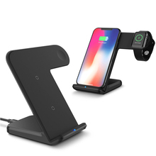 2018 2 in 1 Fast Charging Qi Wireless Charger for Apple watch 1 2 3 For iPhone XS Max XR X 8 Plus For Samsung S9 S8 note 9 8
