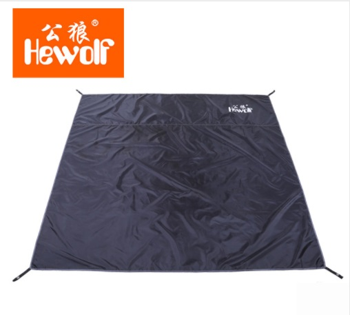 Hewolf Ground Sheet Picninc Mat Outdoor Beach Park Camping Tent Floor Bottom Cloth Pad Cushion Hiking Footprint Awning 2*2m