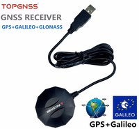 GNSS Dual Mode USB GPS Galileo GLONASS Receive Module Antenna UBLOX M8N GNSS Chip NMEA0183 Compatible