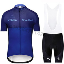 2019 STRAVA Cycling jersey Men's pro team short sleeve set outdoor sport mtb bicycle cycling clothing maillot ropa ciclismo bike недорго, оригинальная цена