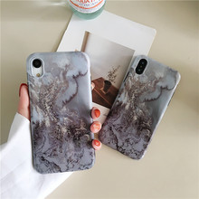 Fashion marble pattern phone case For iphone X XS XR XSMAX soft shell TPU glossy For iphone 6 6s 7 8plus luxury protective case стоимость