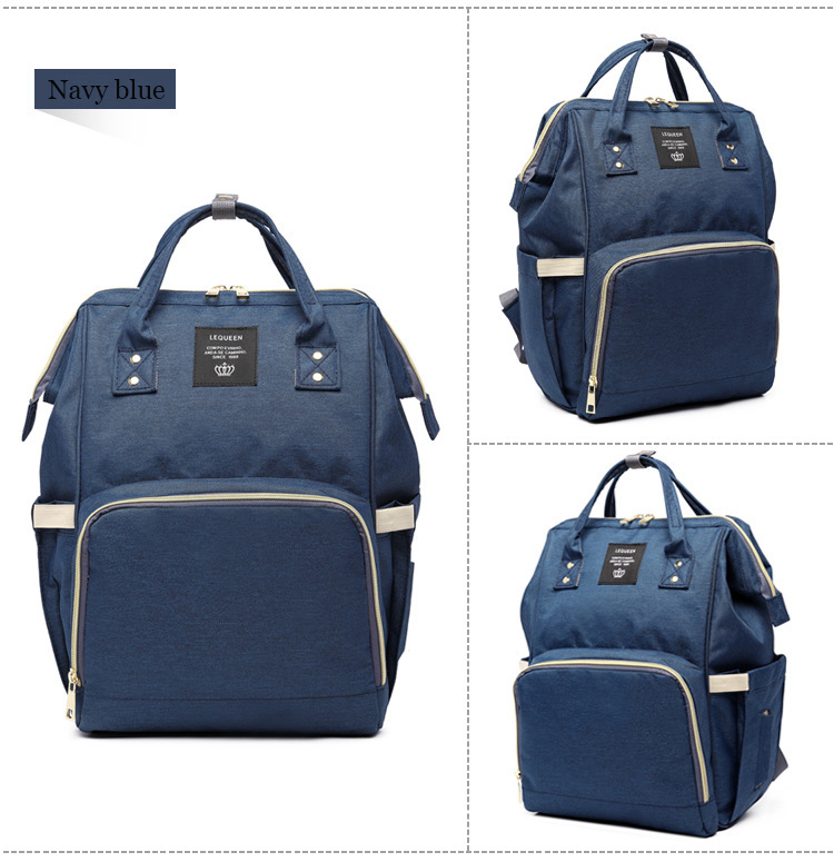 HTB1qStki5qAXuNjy1Xdq6yYcVXaA Maternity Bag Waterproof Diaper Backpack for Mom Nappy Bags Large Capacity Baby Bag Travel Mummy bag Designer Nursing Bag
