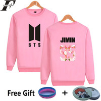 LUCKYFRIDAYF BTS Kpop Sweatshirt Women Bangtan Popular Hip Hop Fans Casual Harajuku Hoodies Women Autumn Female