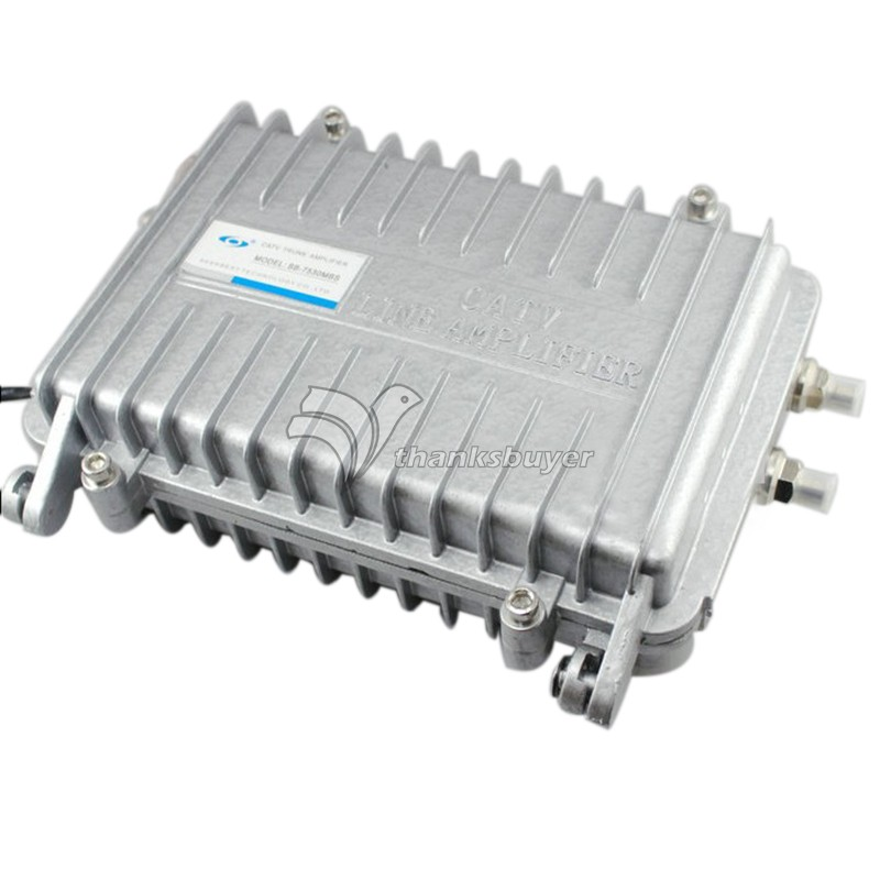 Seebest SB-7530MBS MBS Series Bi-directional Trunk Amplifier Cable TV Signal Splitter Booster CATV Trunk Amplifier jasen js sp08 8 way splitter for satv catv tv receiver silver