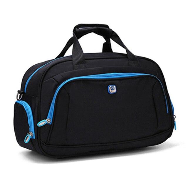 Новые прибытия дорожные сумки для мужчин и женщин большой емкости путешествия сумки сумка портативный вещевой мешок случайный интернат мешок PT1121