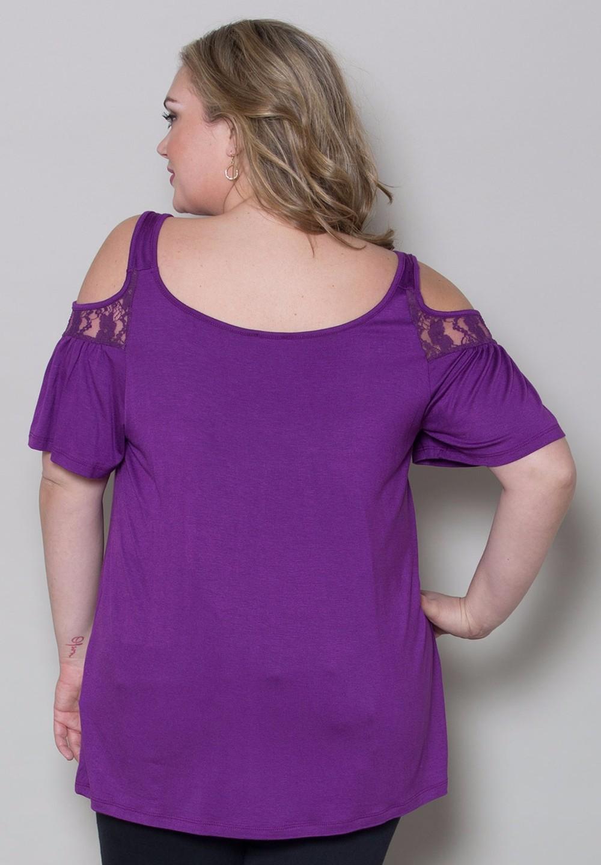HTB1qSu6KFXXXXb XXXXxh4dFXXXu - Off Shoulder Summer Tops Short Sleeve Lace Patchwork Loose