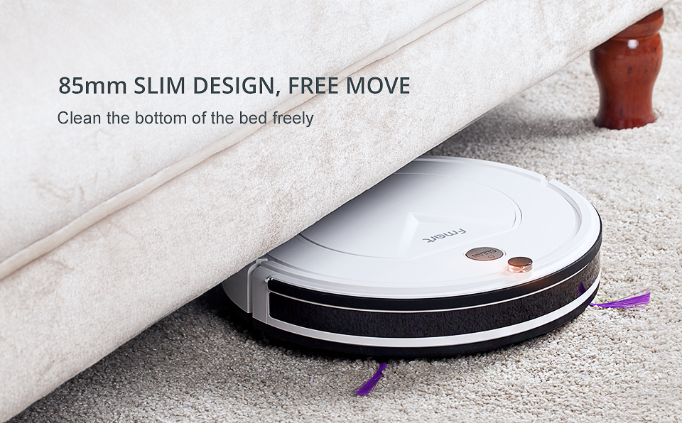 Pro Robot Vacuum Cleaner with Self-Charge Wet Mopping for Wood Floor (2)