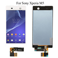"5.0"" For Sony Xperia M5 E5603 E5606 E5653 Touch Screen LCD Display with Digitizer Assembly + Adhesive +  Tools, Free shipping"
