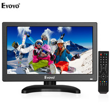 Eyoyo EM12T 12 1920x1080 HDMI TV Monitor Portable Kitchen TV IPS LCD Screen Display TV/HDMI/VGA/AV/USB Input for PC CCTV Camera 2 0mp hd industrielle lab microscope camera vga usb av sortie tv zoom c monture