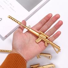 2020new 1 шт. Золотой пулемет шариковые студенческие ручки Шариковая ручка школьные офисные принадлежности Обучающие канцелярские принадлежности
